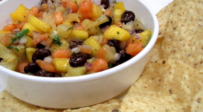 Black Bean and Fruit Salsa