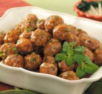 Water Chestnut Meatballs