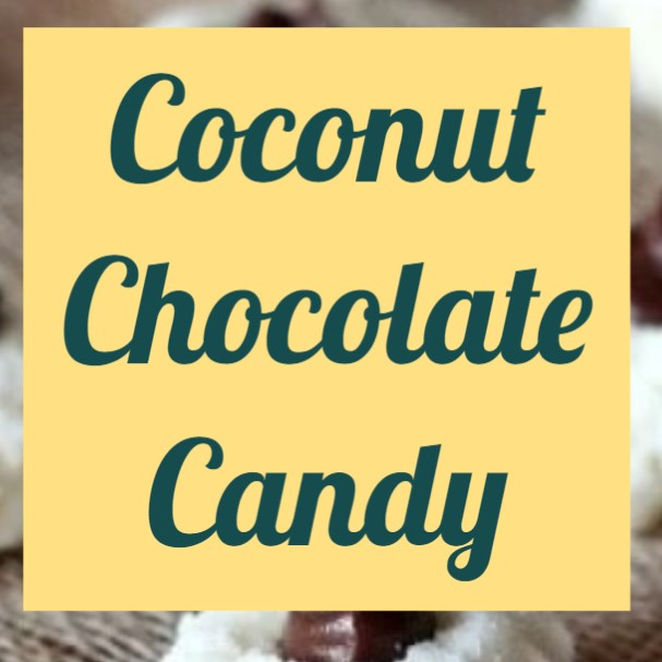 Coconut Chocolate Candy