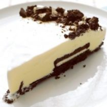 Black-and-White Ice Cream Tart
