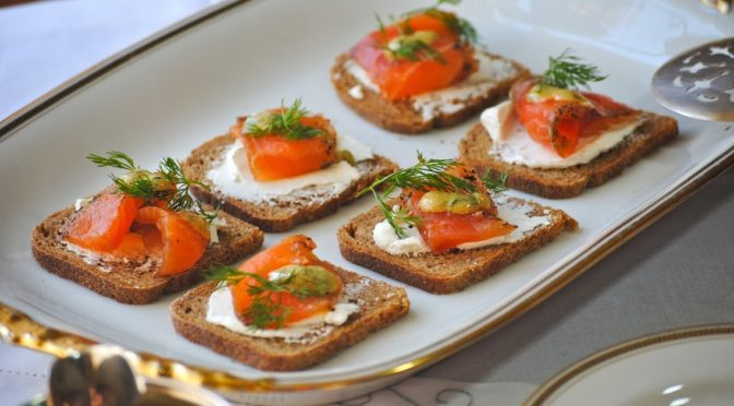 Spicy Gravlaks with Aquavit