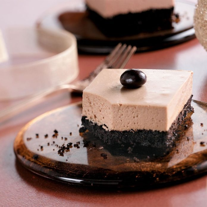 Low Fat Mocha Cheesecake Bars