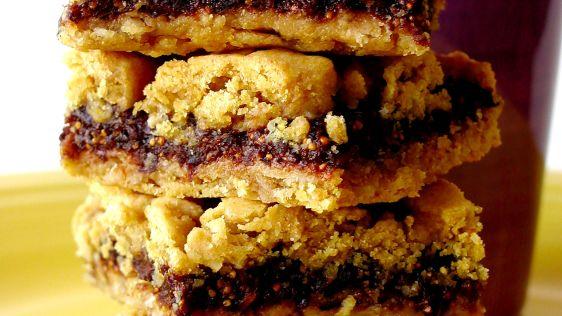 Oat and Fig Squares