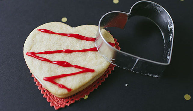 Mallow Valentine's Day Cookies