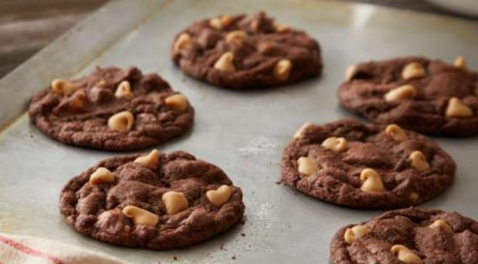 Reese's Chewy Chocolate Cookies