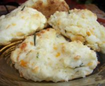 Easy Cheddar Biscuits with Fresh Herbs