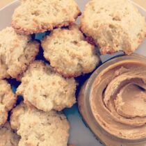 Drop Biscuits with Molasses Butter